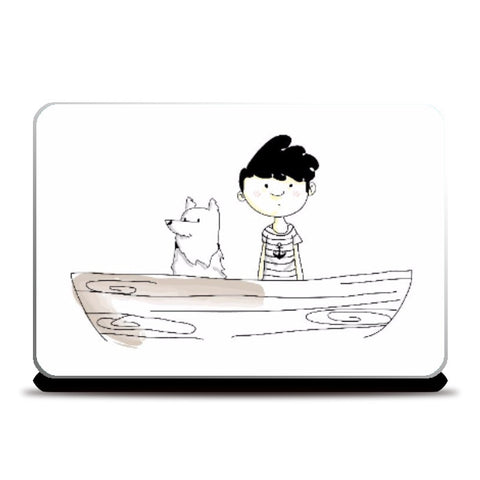 Laptop Skins, BoatWreck by Amitesh Tandon, - PosterGully