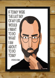 Brand New Designs, Steve Jobs Quote #2 Artwork | Artist: Pratik Doshi, - PosterGully - 2