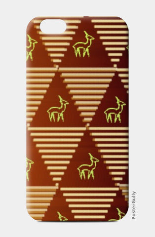 Pyramid Pattern iPhone 6/6S Cases | Artist : Pallavi Rawal