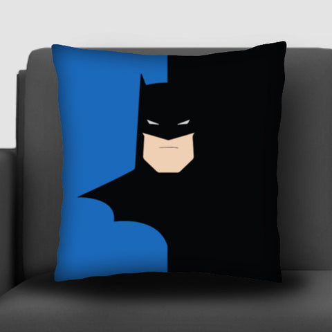 Batman Minimal Cushion Covers | Artist : Shweta Paryani