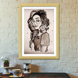 Be your own kind of beautiful Premium Italian Wooden Frames | Artist : Asees Kaur