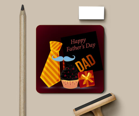 Happy Father's Day With Gifts  Coasters | Artist : Creative DJ