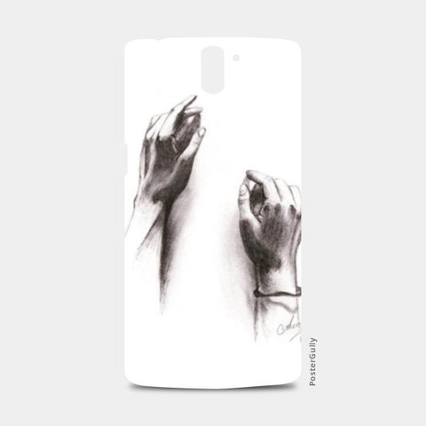 One Plus One Cases, The Hands One Plus One Case | Artist : Asees Kaur, - PosterGully