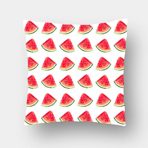 Cushion Covers, Watermelon Pattern Cushion Cover | Artist: Anuja Katti, - PosterGully