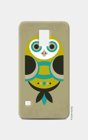 Unique geometric owl on dark Samsung S5 Cases | Artist : Designerchennai