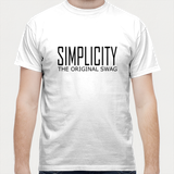 simple is swag 2 Men T Shirts | Artist : Keshava Shukla