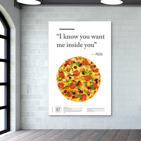 Junk Seduction_Pizza Giant Poster | Artist : Scatterred Partikles