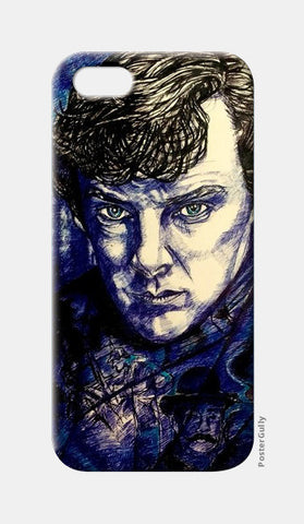 SHERLOCK iPhone 5 Cases | Artist : abhrodeep mukherjee