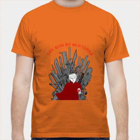 Men T Shirts, The King of Bad Times Men T Shirts | Artist : Charcoal, - PosterGully - 1