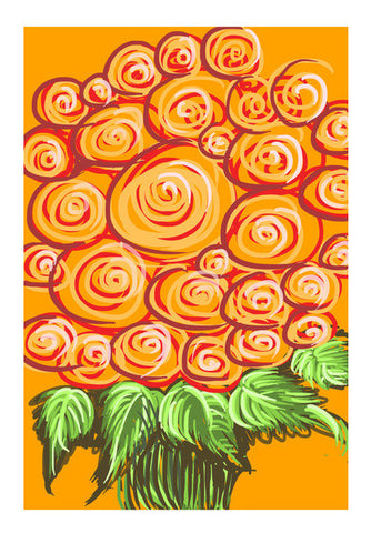 Wall Art, Swirls and flowers ! Wall Art | Artist : Shakthi Hari, - PosterGully
