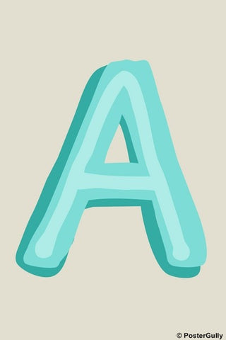 Wall Art, A-Alphabets, - PosterGully