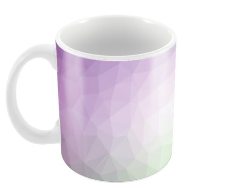 Purple and Green Coffee Mugs | Artist : Manju Nk