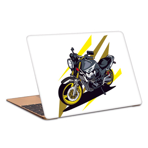 Motorcycle Artwork Laptop Skin