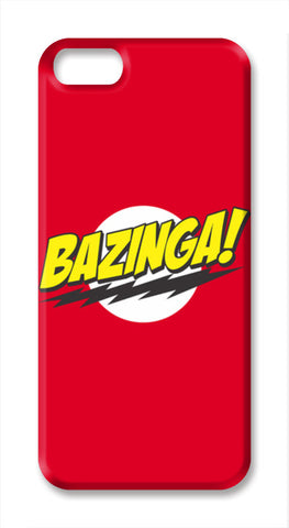 BAZINGA ! iPhone SE Cases | Artist : Naman Kapoor