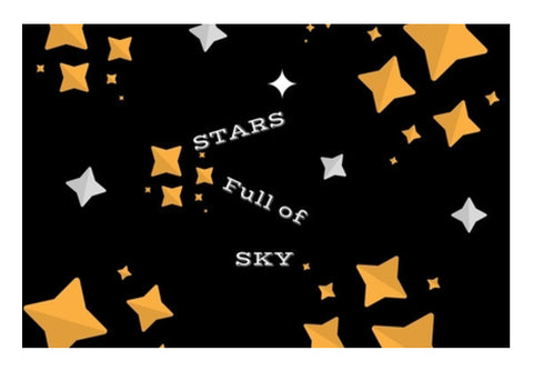 STARS FULL OF SKY Art PosterGully Specials