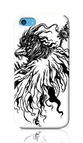 iPhone Cases, Arcane Mage Line Art iPhone 5C Case | Artist: Vinoth Rajendran, - PosterGully