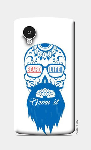Beard life  Nexus 5 Cases | Artist : nilesh gupta