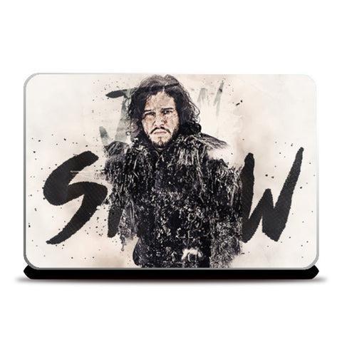 Jon Snow | Digital Painting Laptop Skins | Artist : Gub Gub