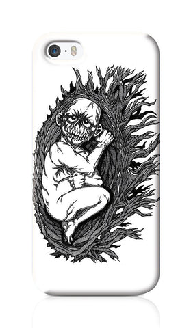iPhone 6 / 6s Cases, Demon Child Line Art iPhone 6 / 6s Case | Artist: Vinoth Rajendran, - PosterGully