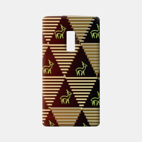 Pyramid Pattern One Plus Two Cases | Artist : Pallavi Rawal