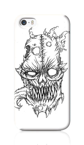 iPhone 6 / 6s Cases, Flaming Skull Line Art iPhone 6 / 6s Case | Artist: Vinoth Rajendran, - PosterGully