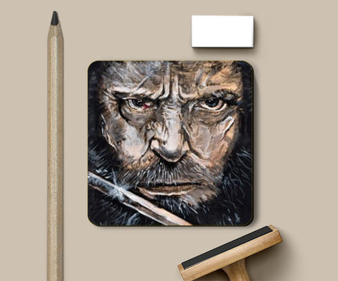 Logan Acrylic  Coasters | Artist : Draw On Demand