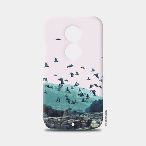 Moto X2 Cases, Haunted Moto X2 Cases | Artist : Cropped Streets, - PosterGully