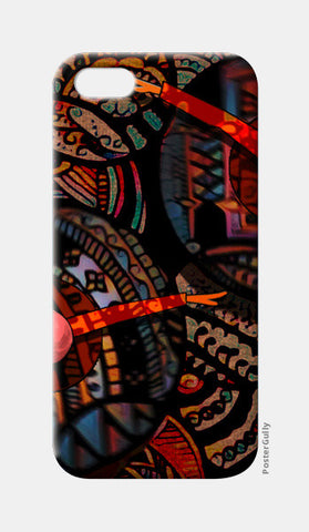 Dancing with colors iPhone 5 Cases | Artist : Karthik Gowrisankar