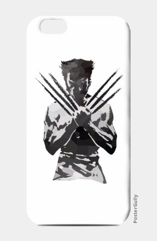 iPhone 6 / 6s, Low Poly Wolverine iPhone 6 / 6s Case | Artist: Darshan Gajara, - PosterGully