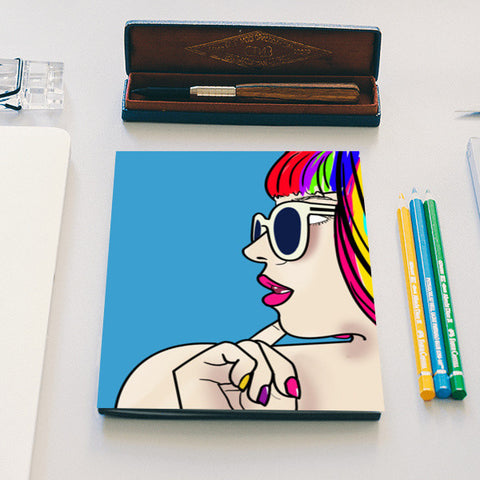 colorful monster Notebook | Artist : DISHA BHANOT