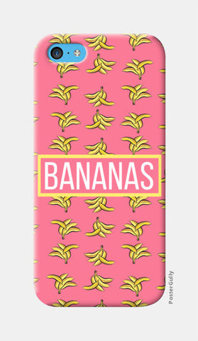 BANANAS iPhone 5c Cases | Artist : DISHA BHANOT