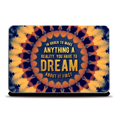Motivational Quote Laptop Skins | Artist : Delusion