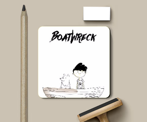 Coasters, BoatWreck Coaster by Amitesh Tandon, - PosterGully