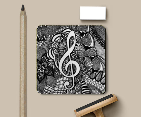 Coasters, Art Symphony Coasters | Artist : Dr. Green, - PosterGully