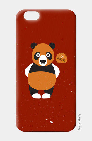 Panda On Red iPhone 6/6S Cases | Artist : Designerchennai