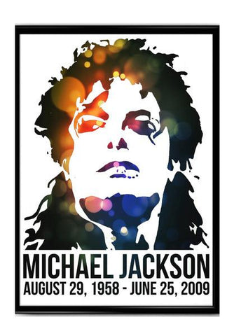 PosterGully Specials, Michael Jackson poster Wall Art | Artist : Anirudh Khanna, - PosterGully