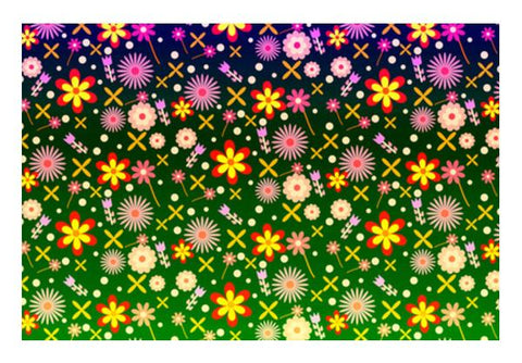 PosterGully Specials, Colorful Flowers Wall Art | Artist : Design_Dazzlers, - PosterGully
