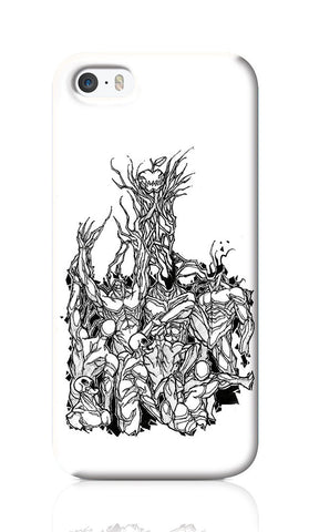 iPhone Cases, Seekers Line Art iPhone 5/5S Case | Artist: Vinoth Rajendran, - PosterGully