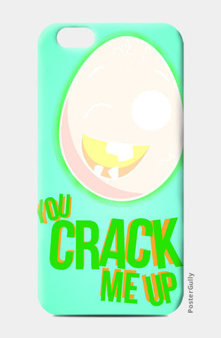 iPhone 6 / 6s, Crack me up iPhone 6 / 6s Case | Eggoticons, - PosterGully