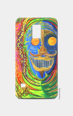 Samsung S5 Cases, The Faceof the Shaman Samsung S5 Cases | Artist : Luke's Art Voyage, - PosterGully