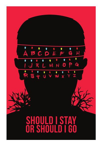 PosterGully Specials, Stranger Things Wall Art | Artist : Rohit Malhotra, - PosterGully