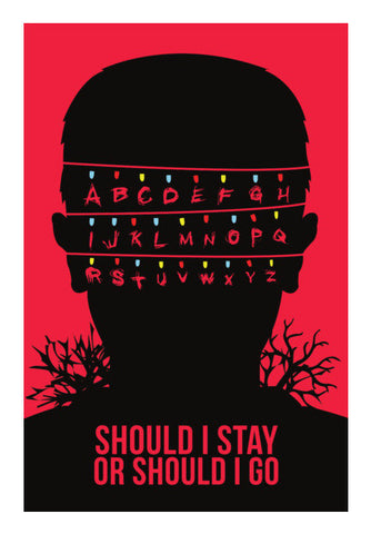 Stranger Things Wall Art | Artist : Rohit Malhotra