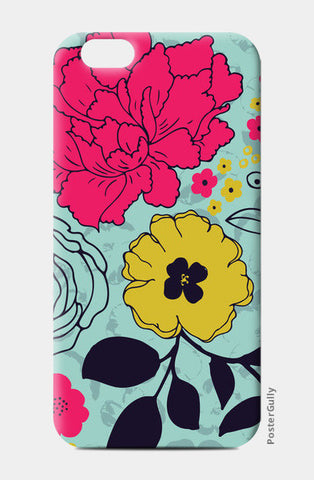 iPhone 6/6S Cases, Romantic Floral Bouquet  iPhone 6/6S Cases | Artist : Neelam Kaur, - PosterGully