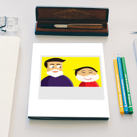Fun DAd Notebook | Artist : Monami Debnath