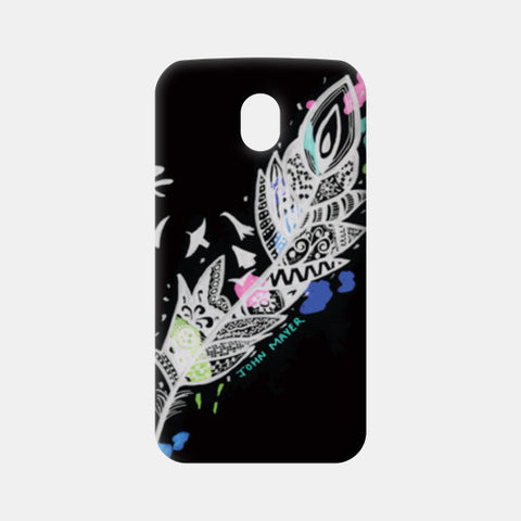 Who Says I Can't Be Free- John Mayer Moto G3 Cases | Artist : Gursimran Kaur