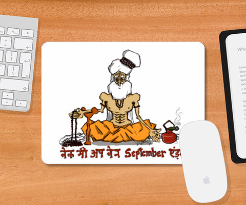 Mousepad, Wake me Up Coaster | Artist: Dishant Bhatia, - PosterGully