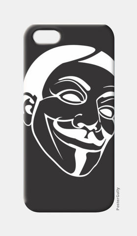 iPhone 5 Cases, anonymous iPhone 5 Cases | Artist : Manjeeth Shenoy, - PosterGully