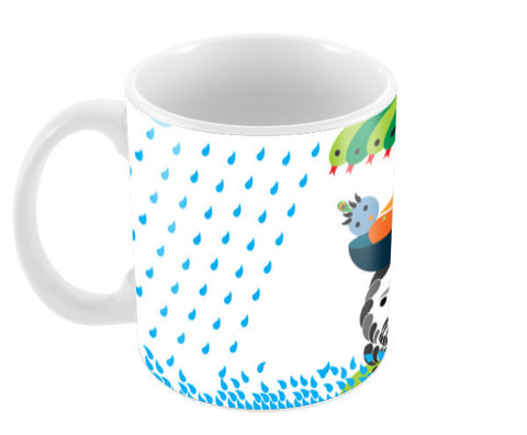 Birth of Krishna Coffee Mugs | Artist : Pradeep Kumar