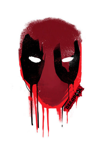 Wall Art, Deadpool Wall Art | Artist : Dev Ballal, - PosterGully