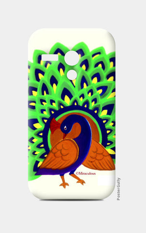 The majestic Peacock Moto G Cases | Artist : Miraculous